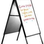a-board-dry-erase-whiteboard-22x28-black-a-frame-sidewalk-sign-holder